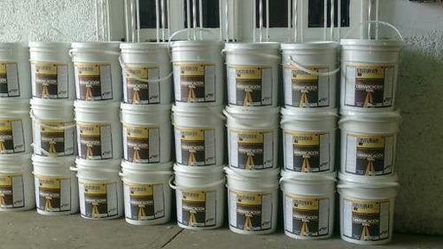 pintura trafico amarilla blanca termoplastico tráfico cuñete