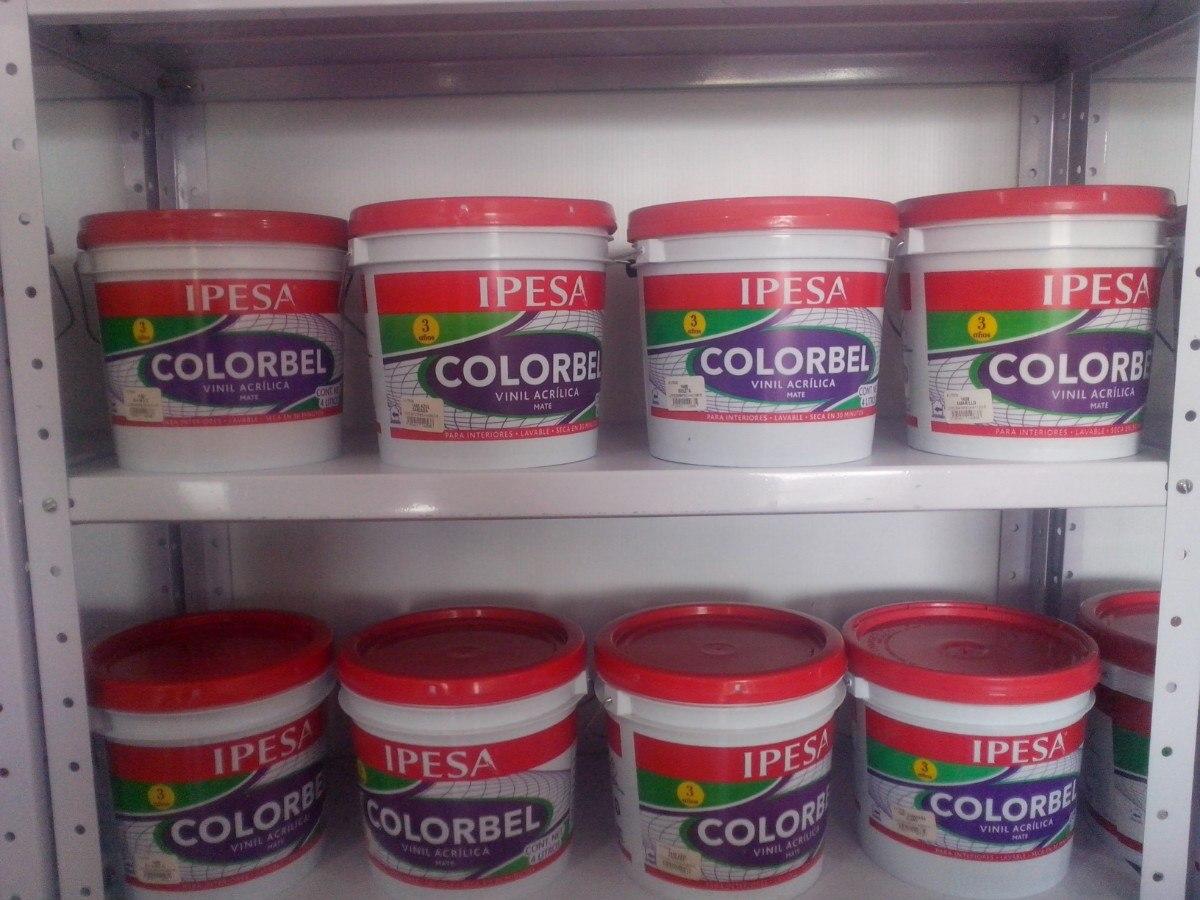 Pintura vinilica colorbel mate 3 a os ipesa calidad y - Pintura asfaltica precio ...