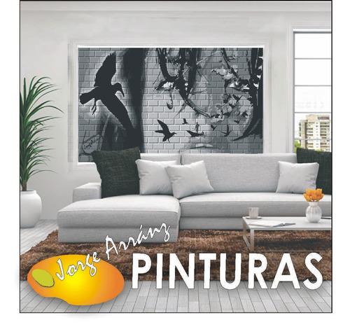 pintura y empapelado. murales en gigantografías c/photoshop.