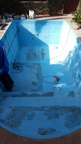pintura y reparacion de piletas de fibra