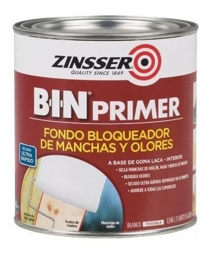 pintura zinsser b-i-n goma laca 3,78l rust oleum - ynter