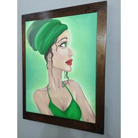 Pinturas A Mano, Decorativo, Pintados Al Oleo Piezas Únicas