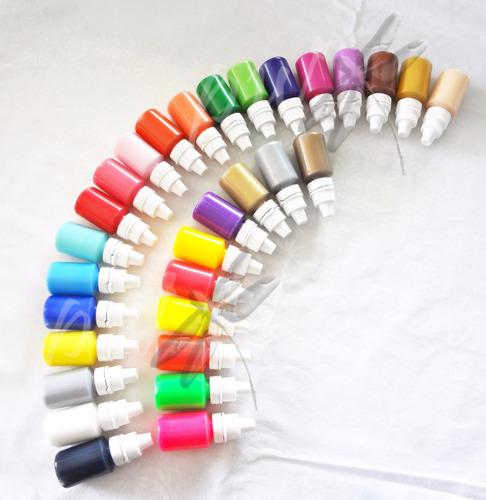 pinturas acrílicas para manicure - decora tus uñas