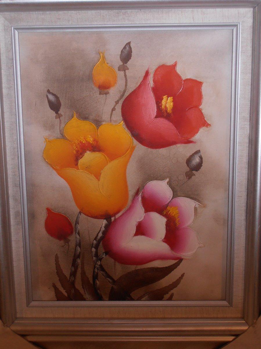 Pinturas Al Oleo Enmarcadas Medida 57 X 47 Cms - $ 1,049.00 en ...