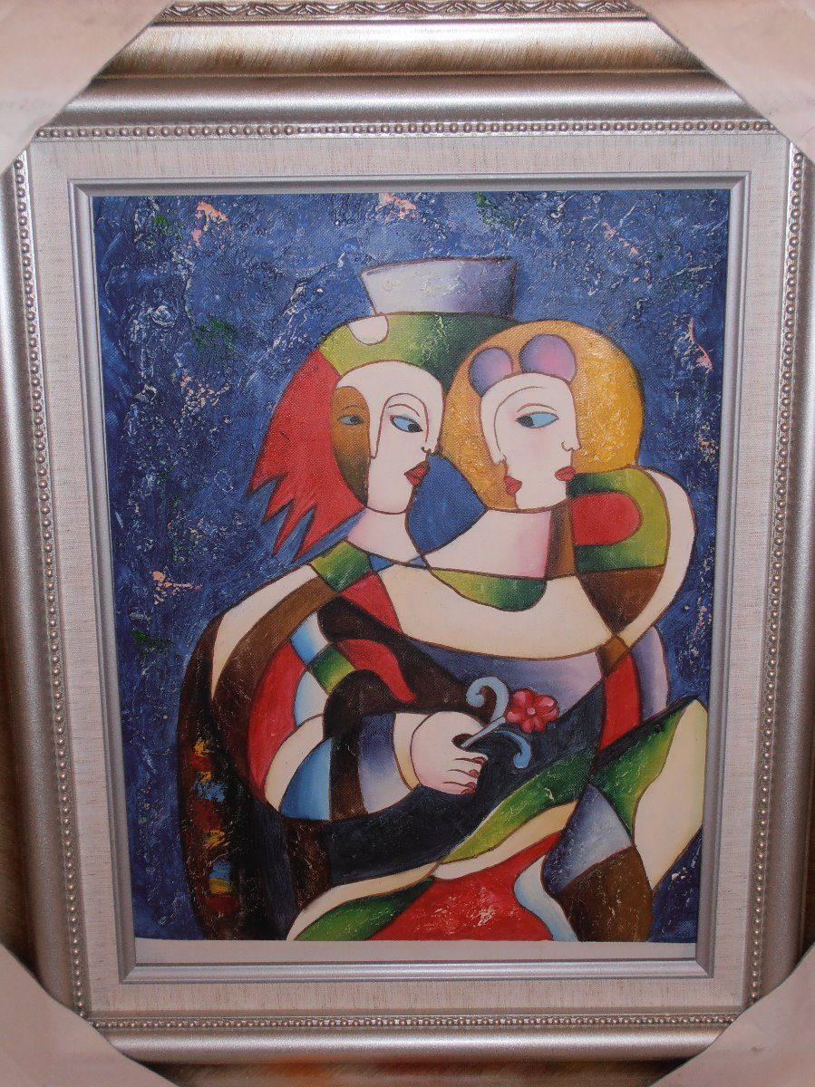 Pinturas Al Oleo Enmarcadas Medidas 57 X 47 Cms - $ 1,049.00 en ...