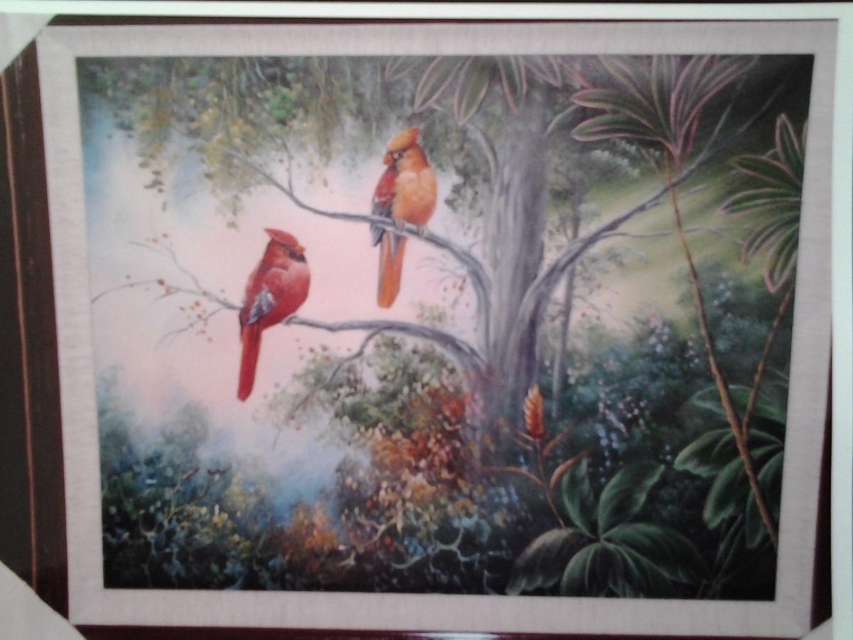 Pinturas Al Oleo Enmarcadas Medidas 69 X 59 Cms - $ 1,290.00 en ...
