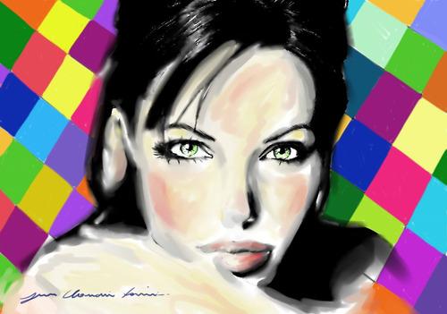 pinturas artisticas retratos desenho realistas de fotos etc