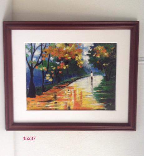 pinturas, cuadros, paisaje, oleo, acrílico, arte