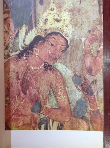 pinturas de las cuevas de ajanta en la india.
