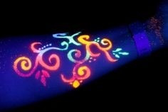 pinturas de neon