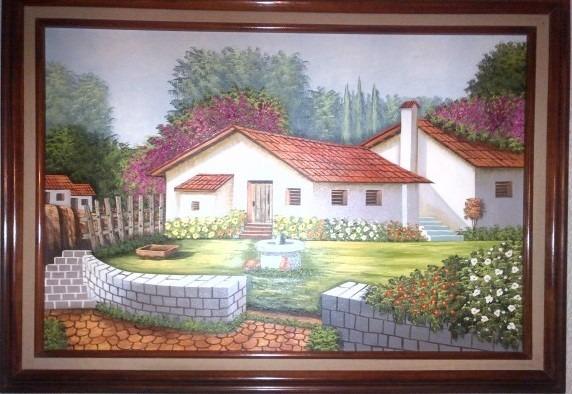 Pinturas en oleo cuadro y pintura artesanal en - Cuadros para pintar en casa ...