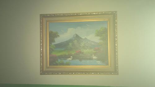pinturas en oleo enmarcadas,