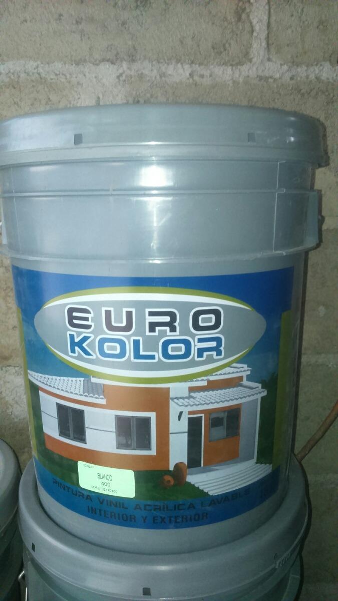 Pinturas euro kolor de comex 1 en mercado libre - Pintura bruguer precio ...