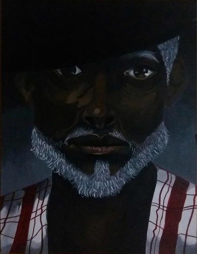 pinturas hechas al oleo de los orichas africanos y otros