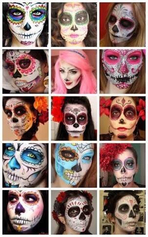 Pinturas para la cara halloween en mercado libre - Pintura cara halloween ...