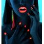 Maquillaje Fluor, Pintura Fluor, Con Y Sin Luz Uv.