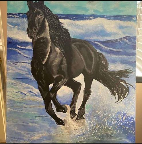 pinturas y cuadros a pedido, retratos-paisajes-mascotas etc
