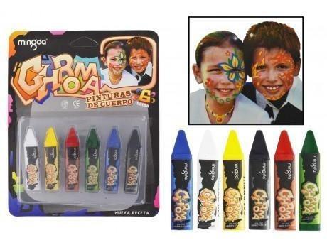 pinturita de cuerpo materiales cosmeticos alta calidad niños
