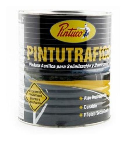 pintutrafico acrilica base solvente amarillo galon pintuco 1