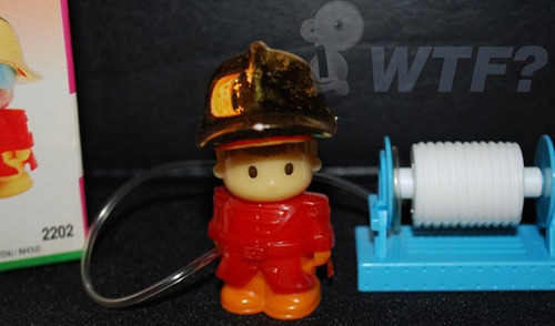piny pon bombero único!! inconseguible!