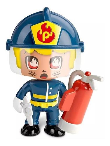 pinypon action auto rescate policia o bombero creciendo