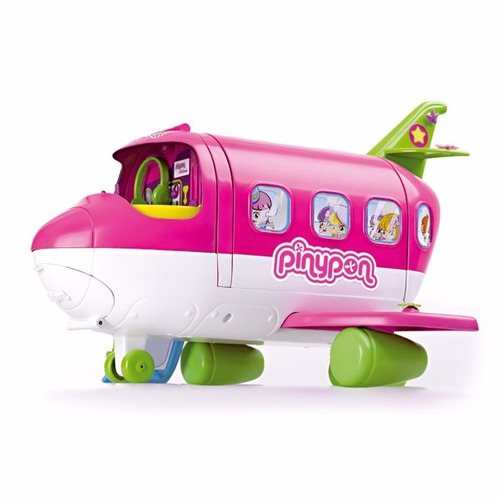 pinypon avion con figura y accesorios jugueteria bunny toys