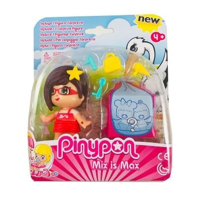 pinypon figura + bebe sorpresa collagekidsar