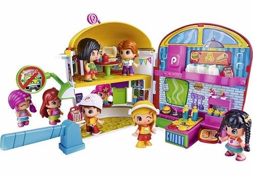 pinypon hamburgueseria  jugueteria bunny toys
