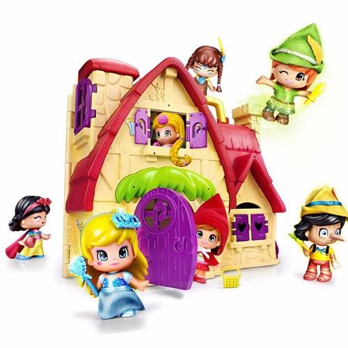pinypon la casa de los cuentos c/1 fig jugueteria bunny toys