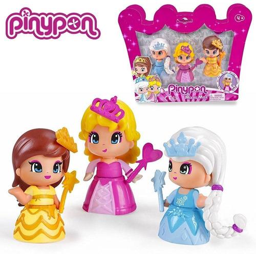 pinypon princesas 3 figuras collagekidsar