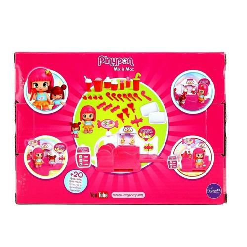 pinypon tienda de dulces con 2 figuras collagekidsar