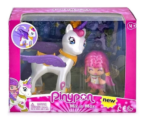 pinypon y unicornio volador mueve las alas cod 14082 bigshop