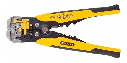 pinza alicate pela cable auto ajustable stanley 96-230