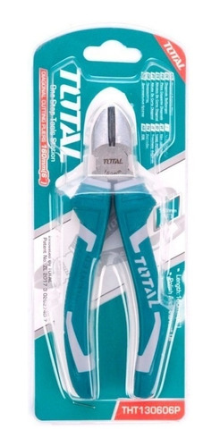 pinza alicate total 160mm industral mango goma tht130606p