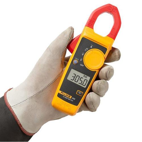 pinza amperimetrica digital 1000a ca tension cc fluke 305