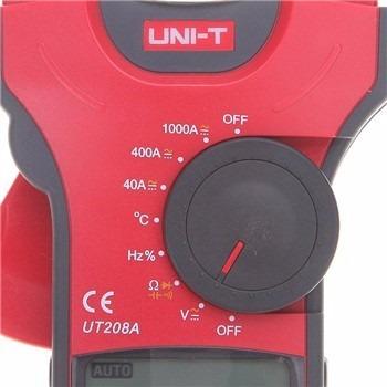 pinza amperimétrica digital de 1000a uni-t ut208a