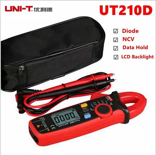 pinza amperimetrica unit ut210d