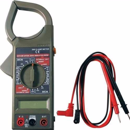 pinza amperometrica digital multimetro tester ja-266 - dt266