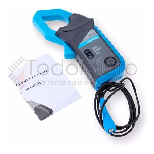 pinza amperometrica hantek cc-650 ac/dc 400hz  garantia