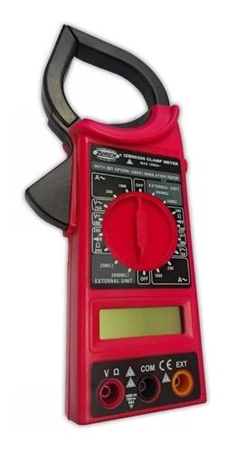 pinza amperometrica tester digital zurich 266 + bolso