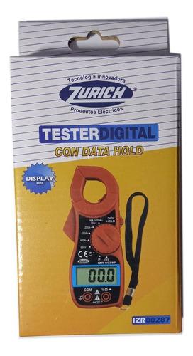 pinza amperometrica tester digital zurich zr287 multimetro