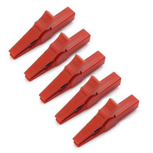 pinza caimán extra grande excelente calidad terminal 4 mm