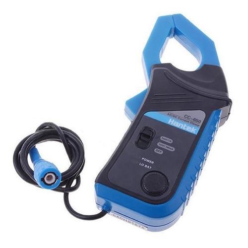 pinza corriente amperimetrica p/ osciloscopio cc-650 hantek