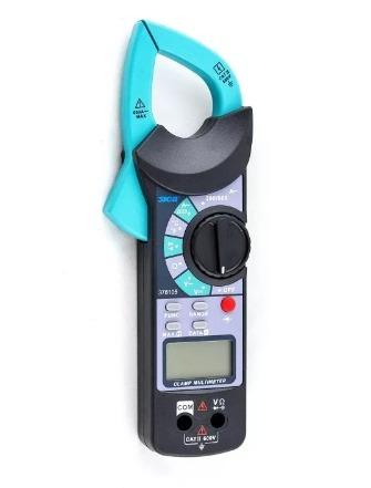 pinza digital amparométrica con termocupla tipo k sica