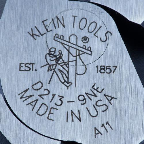 pinza electricista klein americana d213-9ne