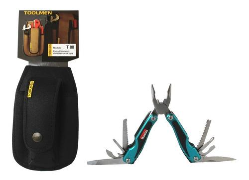 pinza makita multiuso  porta pinza cinturón toolmen t80