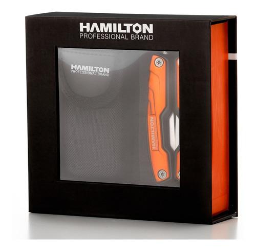 pinza multifunción 12 en 1 premium estuche hamilton pmh50