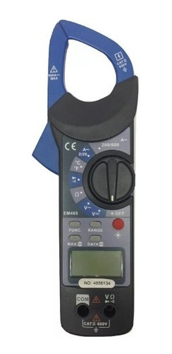 pinza multímetro amperimetro digital con estuche gs