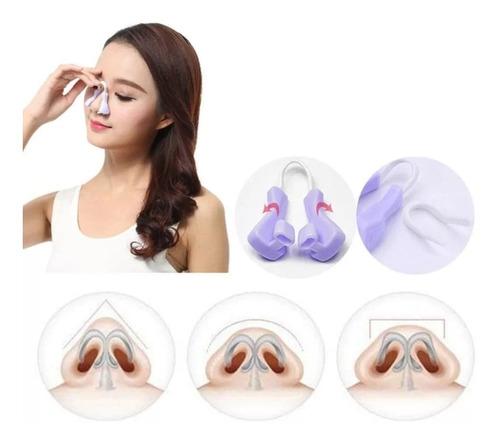 pinza nasal corrector respingador nariz permanente endereza