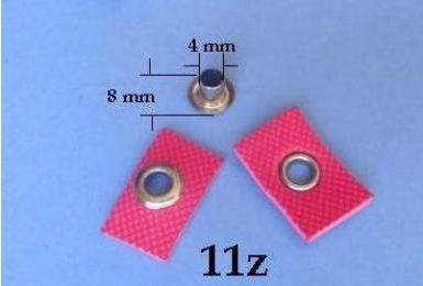 pinza ojilladora coloca ojillos 11z (4 mm)
